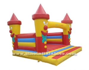 kids clown inflatable bouncer