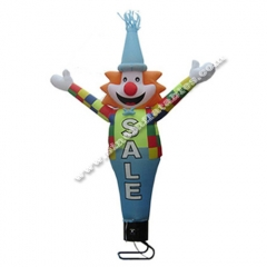 Custom made clown inflatable air dancer