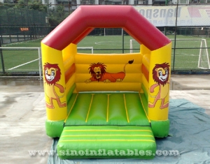 commercial grade forest king lion inflatable bouncy castle