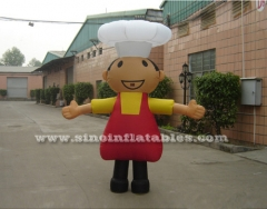 lovely outdoor advertising inflatable costume