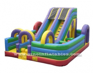 8 x 6 big inflatable obstacle game