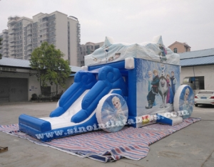 frozen carriage inflatable bouncy castles