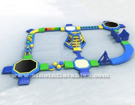 adults giant inflatable water obstacle course For Sale