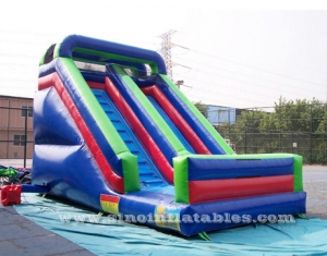 kids front load inflatable slide