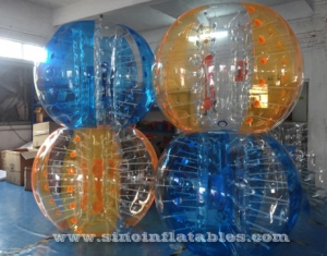 colorful inflatable bubble ball