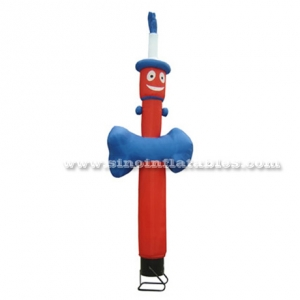 Outdoor clown advertising inflatable sky dancer