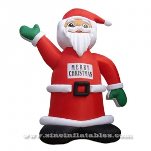 outdoor advertising inflatable Xmas man