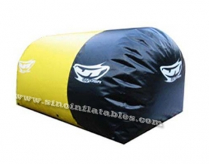 inflatable bumper paintball air bunker