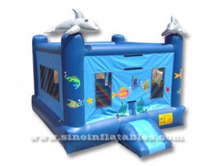 small size sea world inflatable jumper