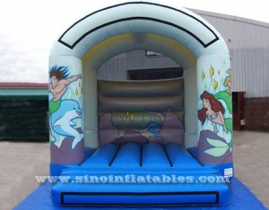 small indoor kids mermaid N devil bouncy castle