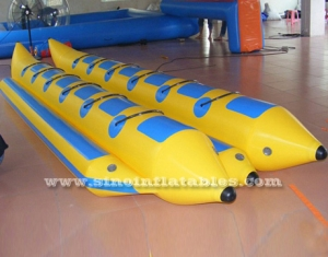 12 persons double row inflatable banana boat