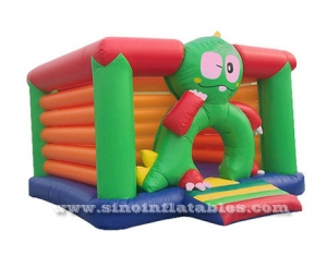 Commercial grade outdoor kids frog inflatable bouncy castle