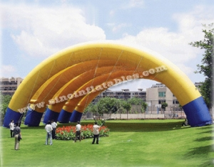 giant inflatable exhibition tent