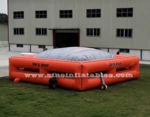 outdoor big inflatable jump air bag for skiing