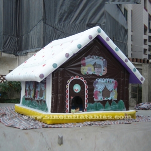 advertising Christmas inflatable snow house