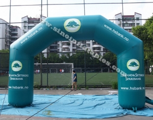 Big outdoor advertising inflatable arch