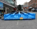 Outdoor commercial custom made kids and adults inflatable obstacle course