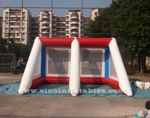 inflatable penalty shootover game