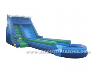 kids parties wavy inflatable water slide