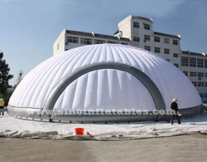 18 meters Dia. round giant inflatable dome tent