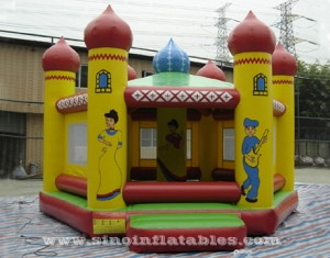 outdoor kids ballroom inflatable bouncy house