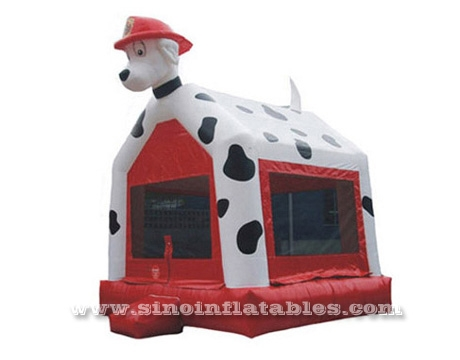 Phenomenal Custom Made Commercial Use Spottie Dog Inflatable Bounce Home Interior And Landscaping Spoatsignezvosmurscom