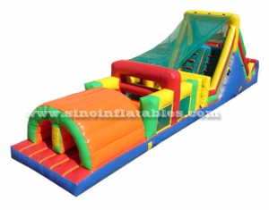 Commercial kids inflatable obstacle games