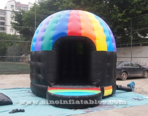 music party disco dome bounce house