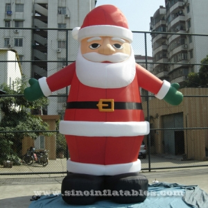 Hot sale advertising inflatable Santa Claus