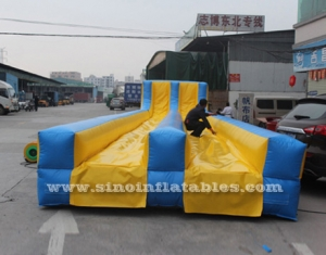 Commercial grade double lanes adult inflatable slip n slide