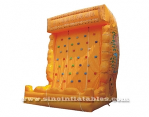 adults challenge cliff inflatable climbing rock wall