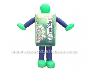 Custom made outdoor advertising inflatable costume