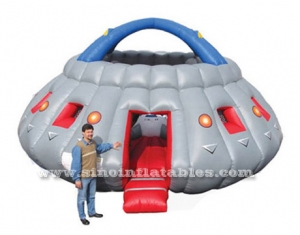 kids UFO big inflatable bouncy castle