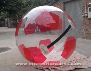 soccer type inflatable walk on water ball