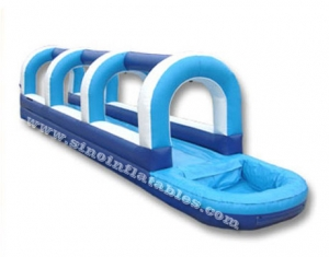 inflatable water slip and slide blow up with pool
