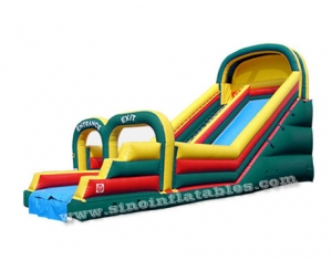 giant arch inflatable slide