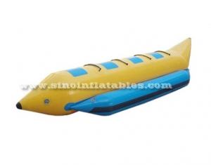 4 persons single row inflatable banana boat