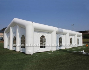 rectangle white wedding party inflatable tent