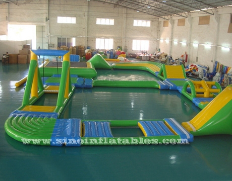 kids N adults giant inflatable water playground