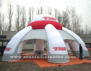 big TMF display inflatable trade show tent
