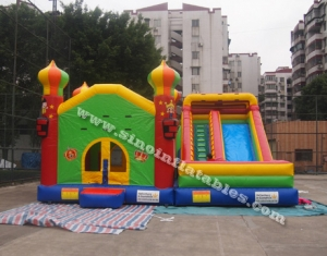 Outdoor kids big inflatable combo house