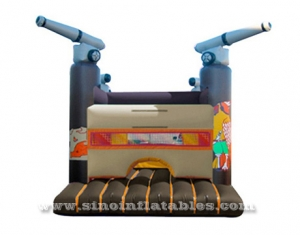 children pirate castle inflatable bouncer