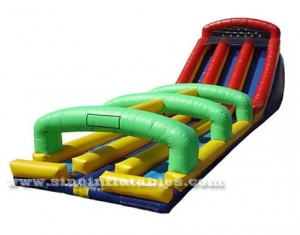 kids N adults inflatable water slide N slip
