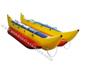 8 persons dual row inflatable banana boat