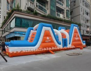 Outdoor newest kids inflatable interactive game