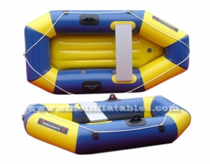 2 persons inflatable drifting boat