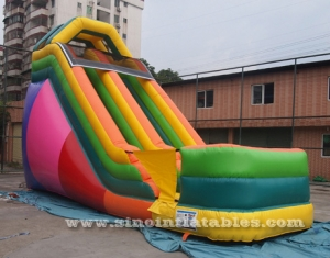 19' inflatable dry slide
