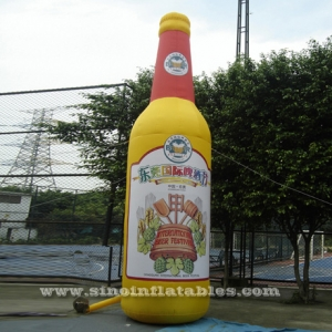 promotional inflatable beer bottle