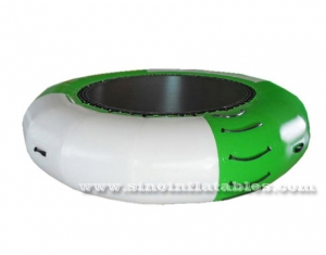 small size kids inflatable water trampoline