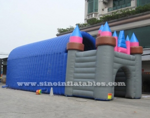 grand castle inflatable tunnel tent